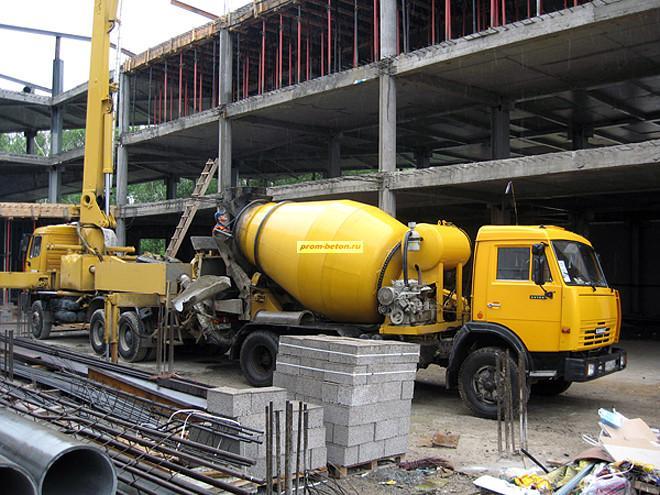 бетон продажа