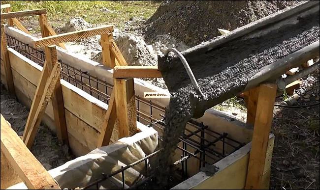 стоимость раствора бетона