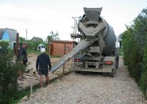 Правила разгрузки бетона