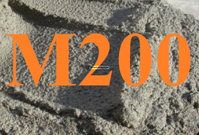 цементный раствор m200