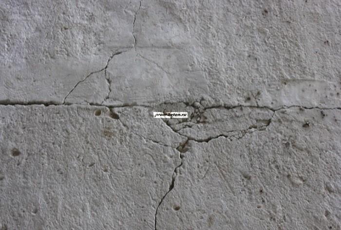 разрушение бетон