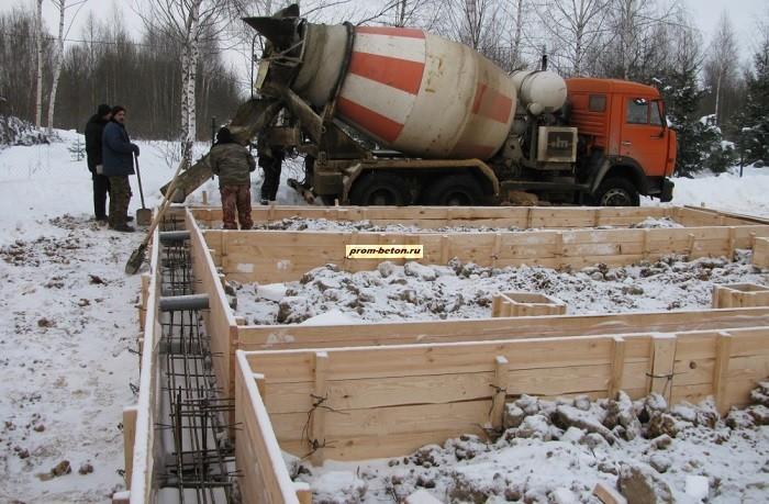 Купить бетон с противоморозной добавкой характеристики цементный раствор марки 100