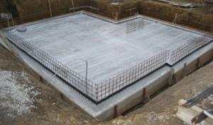 Качественный плитный фундамент