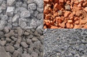 Возможные заменители щебня в бетоне