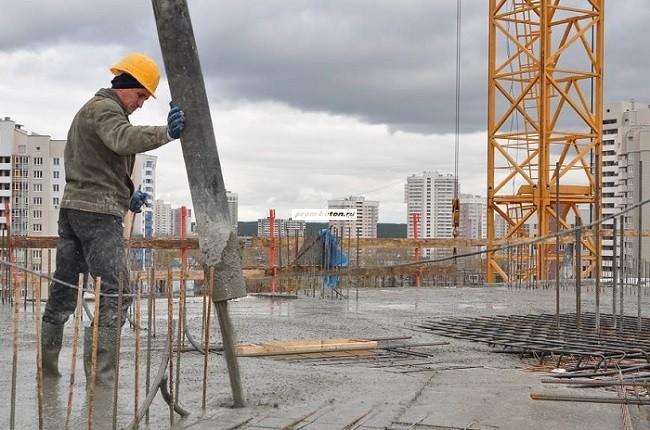 монолитный бетон в москве
