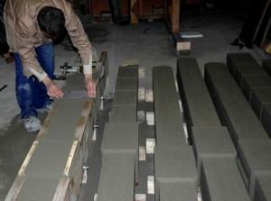 Столбы для забора из бетона своими руками
