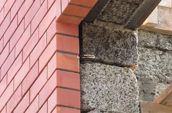 опилки бетона