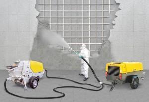Качество и высокая производительность - Торкретированный бетон
