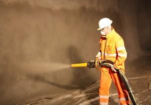 Торкретированный бетон - качество и высокая производительность