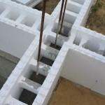Опалубка под заливку бетоном из ППС
