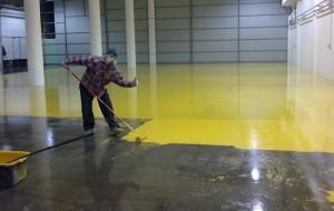 Полимерное покрытие бетонных полов