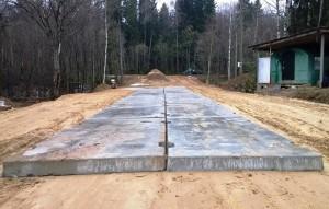 Использовании дорожных плит при строительстве дорог
