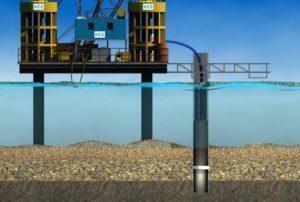 Способы подводного бетонирования