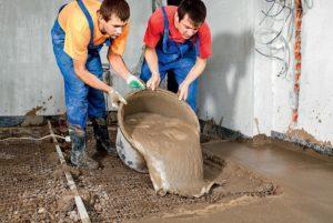 Использование бетона в домашних условиях