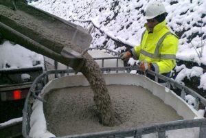 Добавки которые понизят температуру замерзания бетона