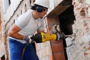 Правила демонтажа кирпичных стен