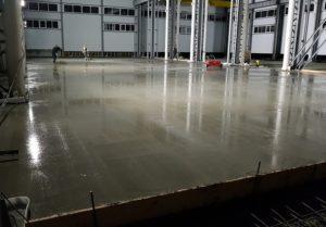Статичные промышленные бетонные полы и их пропитка