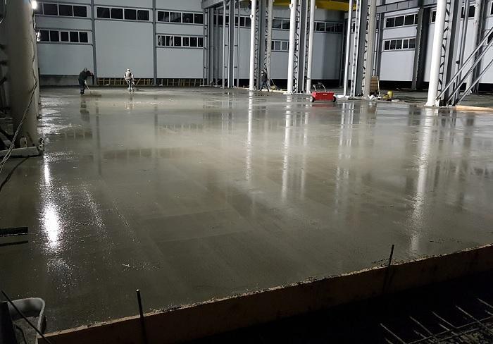 бетонные полы смеси