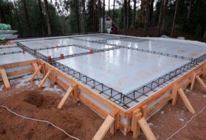 Строительство фундамент-плиты своими руками