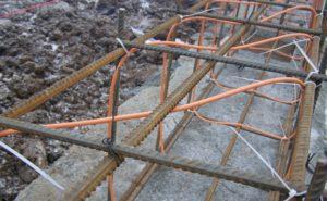Провод для нагрева бетона