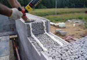 Особенности строительства из керамзитобетона