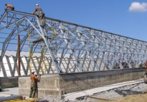 Применение металлоконструкций в строительной отрасли
