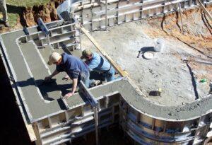 Технология выполнения опалубки для бетона