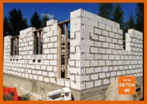 Блочное строительство дома