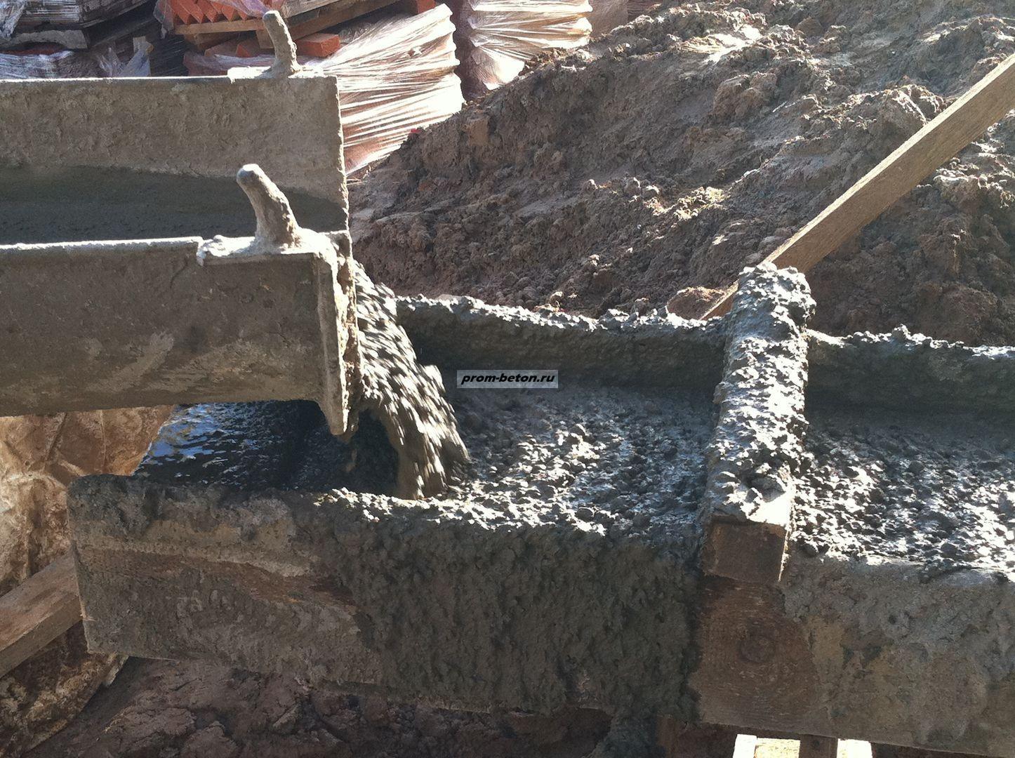 Как сделать бетон из пгс