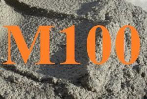 Цементный раствор М100