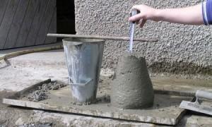 Усадка готового бетона