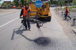 Пропитка дорожного покрытия