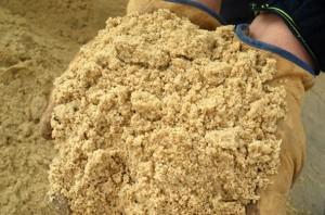 Песок для приготовления бетона