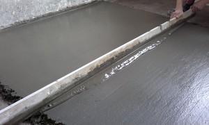 Цементно-песочная стяжка в квартире