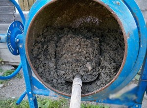 Лёгкий бетон из опилок