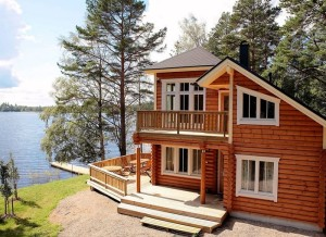 Как построить дом на берегу