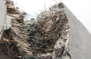 Металлическая фибра для бетона
