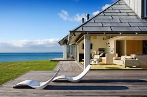 Строительство дома на берегу
