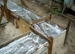 Уход за бетоном после укладки