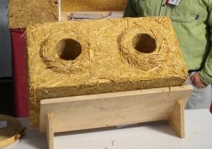Блоки из соломы для строительства