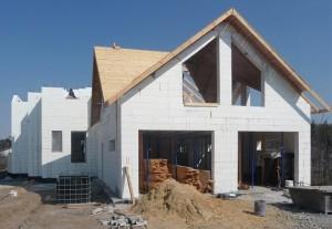 Строительство жилого дома из ППС опалубки