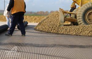Геоматериалы для строительства дорог