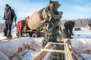 Зимние противоморозные добавки в бетон