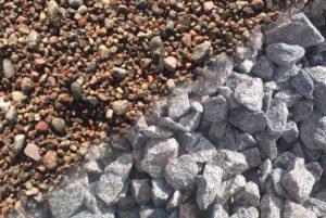 Что лучше выбрать для бетона - гравий или щебень